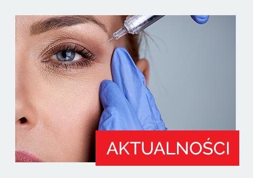 Kobieta podczas zabiegu botoksem na okolice oczu 3 - Studio Elix