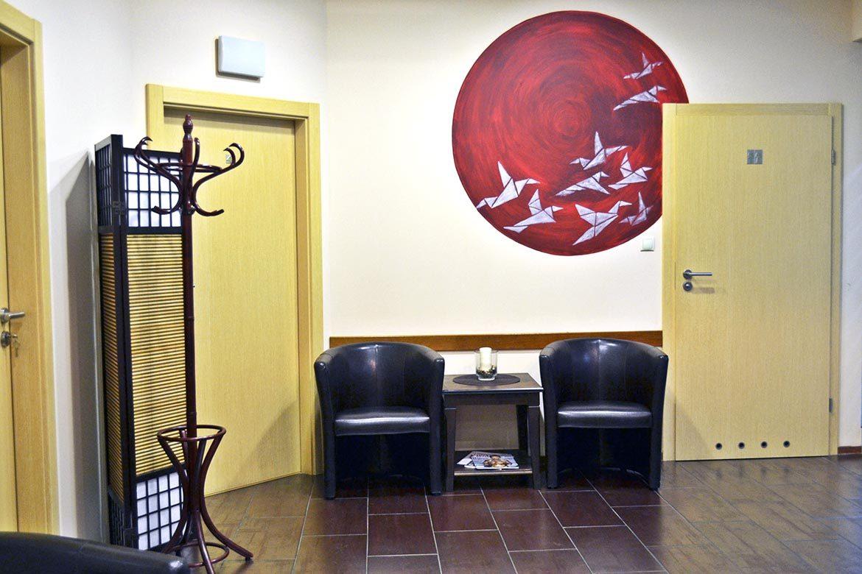 Studio medycyny estetycznej Elix - poczekalnia
