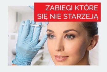 Kobieta podczas zabiegu botoksem na czoło 2 - Studio Elix